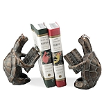 Scholarly Turtle Bookends