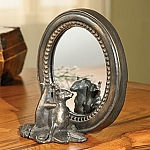 Mice Oval Mirror