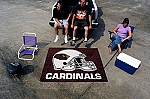 Large Arizona Cardinals Logo Area Rug