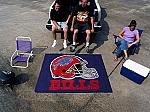 Large Buffalo Bills Logo Area Rug