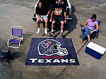 Large Houston Texans Logo Area Rug