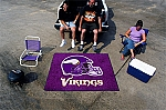Large Minnesota Vikings Logo Area Rug
