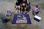 Large New York Giants Logo Area Rug