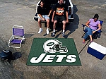 Large New York Jets Logo Area Rug