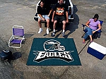 Large Philadelphia Eagles Logo Area Rug