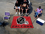 Large Atlanta Falcons Logo Area Rug