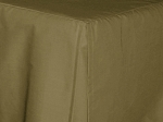 Antique Olive Tailored Dustruffle Bedskirt