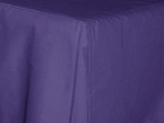 Full/Double Purple Tailored Dustruffle Bedskirt