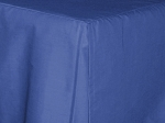 Antique Royal Blue Tailored Dustruffle Bedskirt