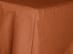 Full/Double Rust Tailored Dustruffle Bedskirt