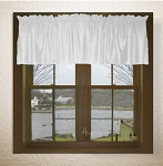 Bright White Window Valances
