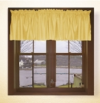 Gold Window Valances