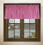 Fuchsia Window Valances