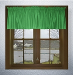 Kelly Green Window Valances