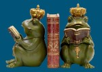 Frog Superior Gatekeeper Bookends