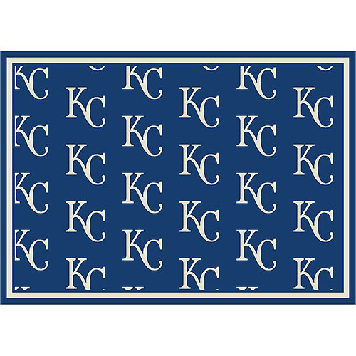 Kansas City Royals Repeat Logo Area Rug