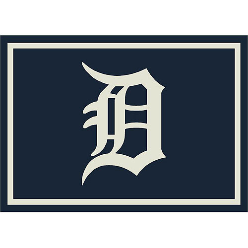 Detroit Tigers Team Logo Area Rug