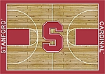 Standford Cardinals Home Court Area Rug