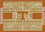 Tennessee Volunteers Home Court Area Rug