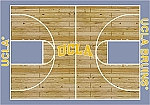 UCLA Bruins Home Court Area Rug