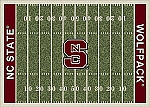 North Carolina State Wolfpack Home Field Area Rug