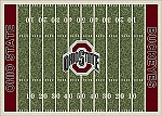 Ohio State Buckeyes Home Field Area Rug