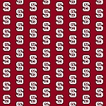 North Carolina State Wolfpack Repeat Logo Area Rug