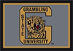 Grambling State Tigers Team Logo Area Rug