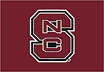 North Carolina State Wolfpack Team Logo Area Rug