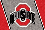 Ohio State Buckeyes Alternate Team Logo Area Rug