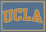 UCLA Bruins Team Logo Area Rug