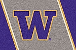 Washington Huskies Team Logo Area Rug