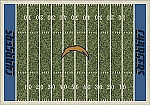 San Diego Chargers Home Field Area Rug