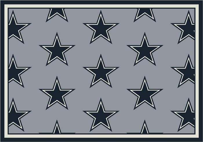Dallas Cowboys Repeat Logo Area Rug