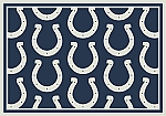 Indianapolis Colts Repeat Logo Area Rug