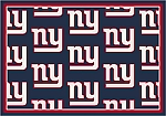 New York Giants Repeat Logo Area Rug 2