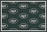 New York Jets Repeat Logo Area Rug 2