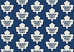 Toronto Maple Leafs Repeat Logo Area Rug