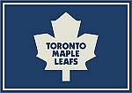Toronto Maple Leafs Team Logo Area Rug