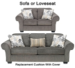 Ashley® Makonnen replacement cushion cover, 7800038 sofa or 7800035 love