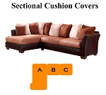 Ashley® Masoli Beige Sectional replacement cushion and cover, 14201
