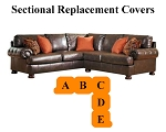 Ashley® Nesbit Sectional replacement cushion and cover, 31600