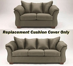 Ashley® Darcy Replacement Cushion Cover Only, 7500338 or 7500335 Sage