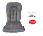 Quick Ship! Glider Rocker Cushion Set - Fern Fabric