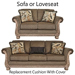 Ashley® Richburg Coffee replacement cushion cover, 2390338 sofa or 2390335 love