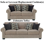 Ashley® Fehmarn Toffee replacement cushion cover, 2770338 sofa or 2770335 love