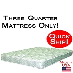 Quick Ship! Three Quarter Good Mattress Only, Best Mattress For Back