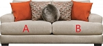 Jackson®Ava Cashew 449803 Sofa or 449802 Love Seat Replacement Cushion Cover