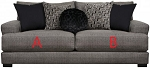 Jackson®Ava Pepper 449803 Sofa or 449802 Love Seat Replacement Cushion Cover