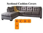 Ashley® Maier Sectional replacement cushion and cover, 45200